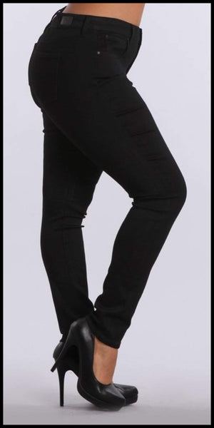 Celebrity Black Skinny Jean - Also in Plus size