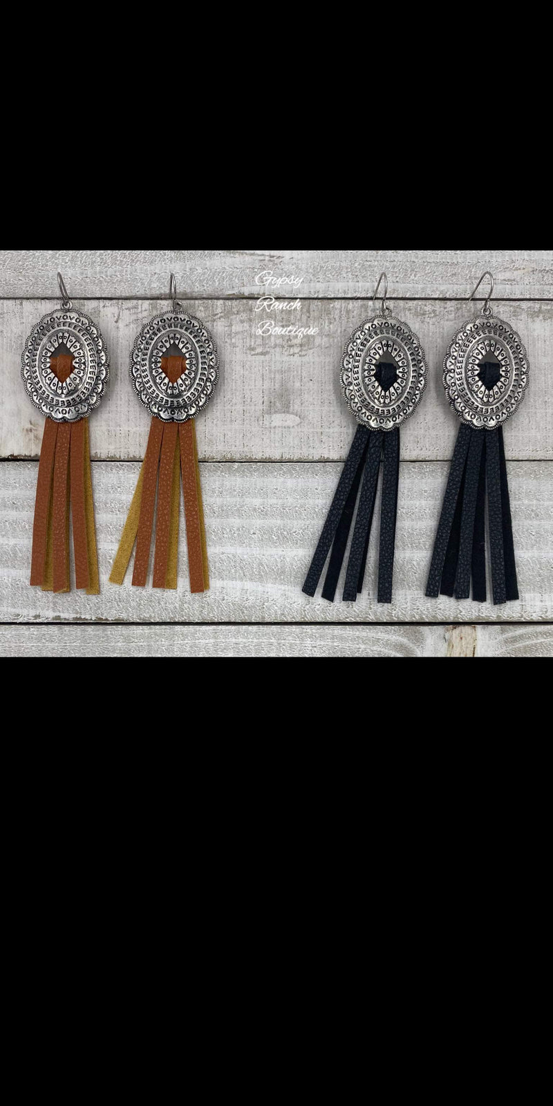 Wise County Fringe Earrings