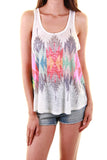 Summit Crossing Feather Tank Top