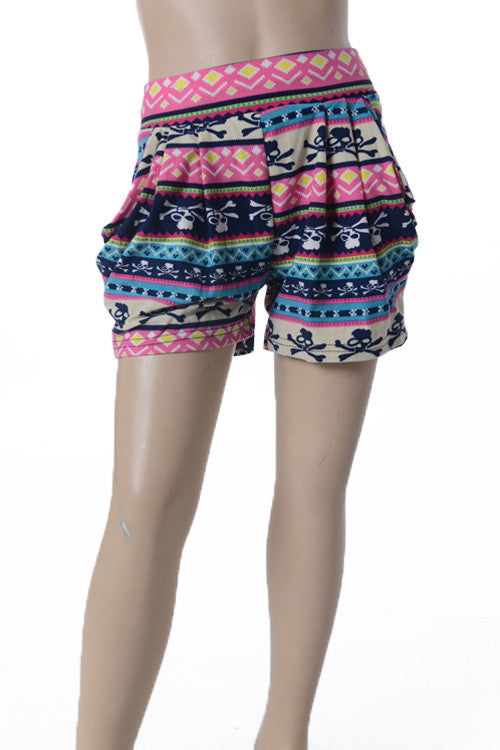 Kids - She's A Star Skull Shorts