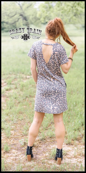 Laid Back Leopard Dress - Also in Plus Size