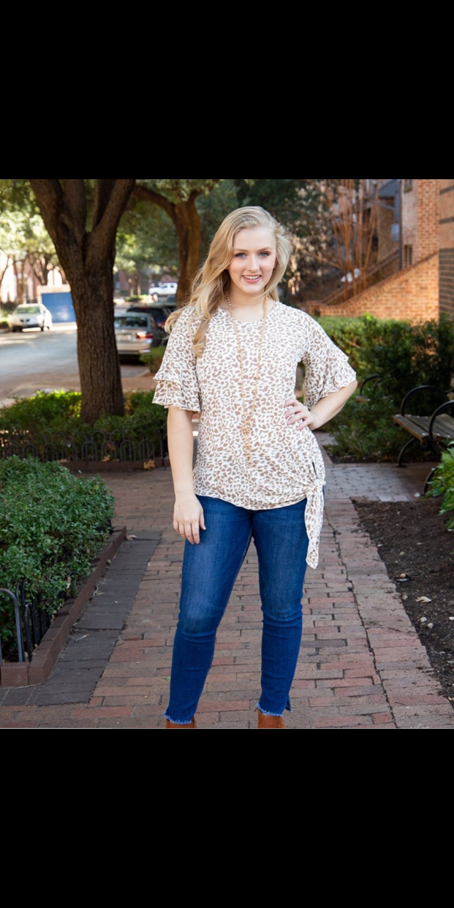 On The Hunt Leopard Top - Also in Plus Size