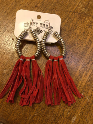 Rio Bravo Red Earrings