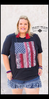 Don't Tread On Me Top - Also in Plus Size