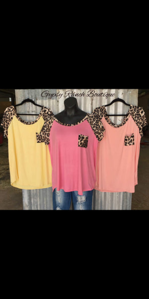 Paradise Island Leopard Top - Also in Plus Size