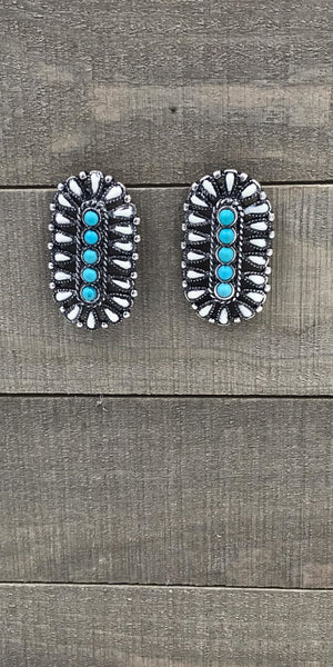 Bristen Turquoise Earrings
