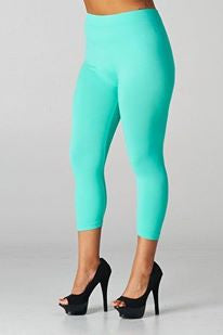 Fashionista Plus Size Leggings - Several Colors