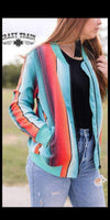 Back Road Serape Jacket - Also in Plus Size