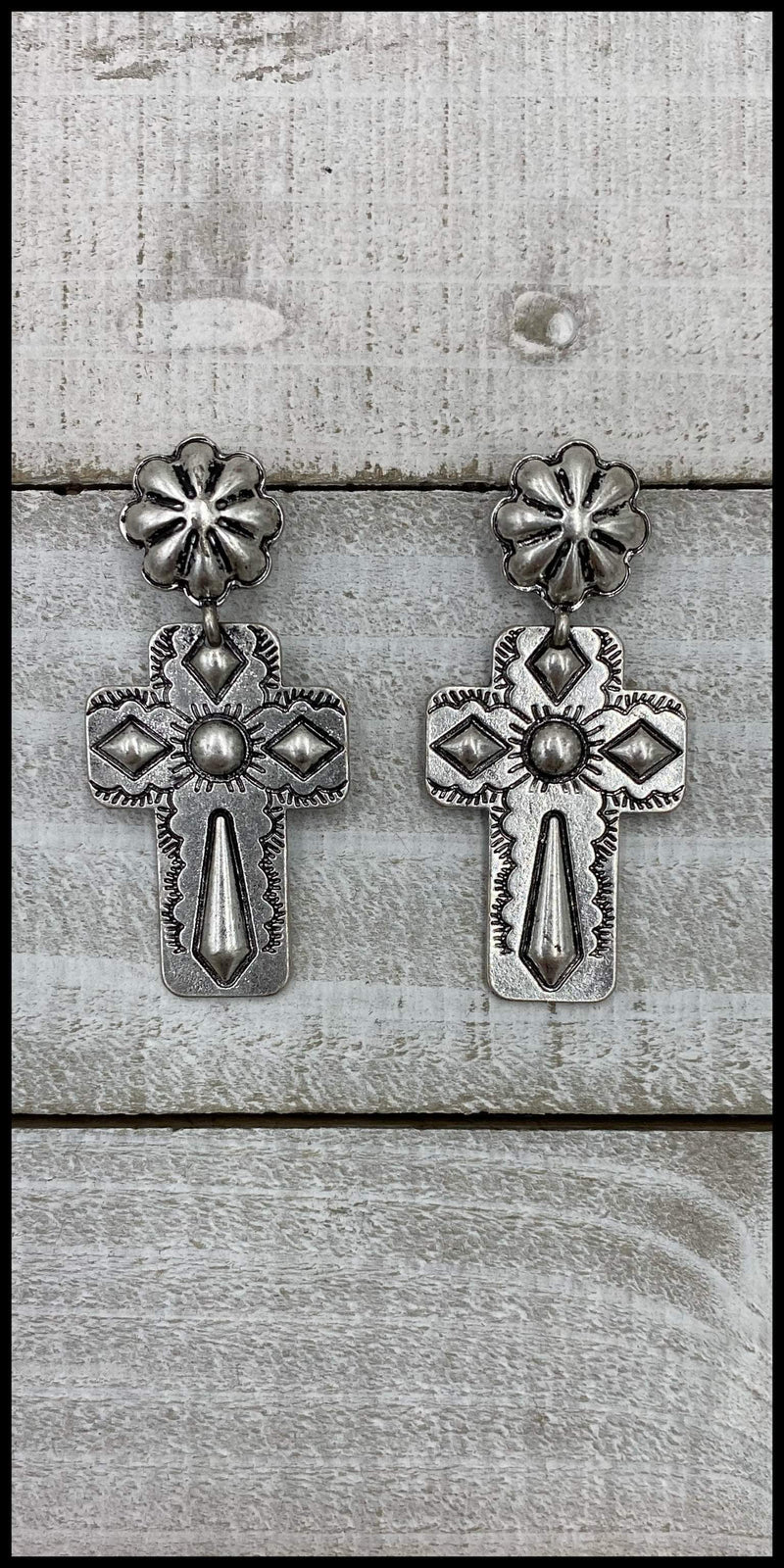 Amazing Grace Silver Earrings