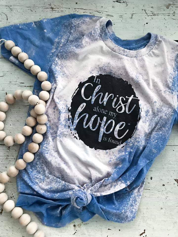 In Christ Alone My Hope is Found Top - Also in Plus Size