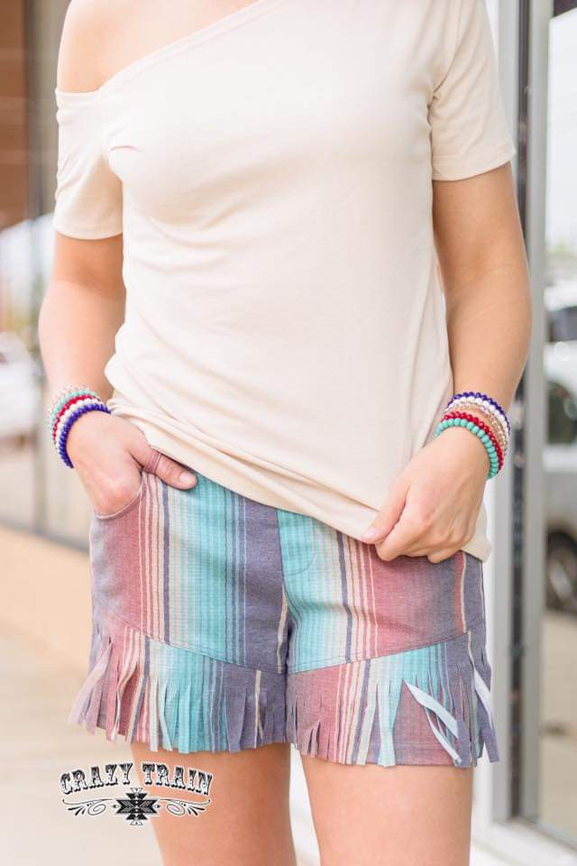 Freedom Fringe Shorts
