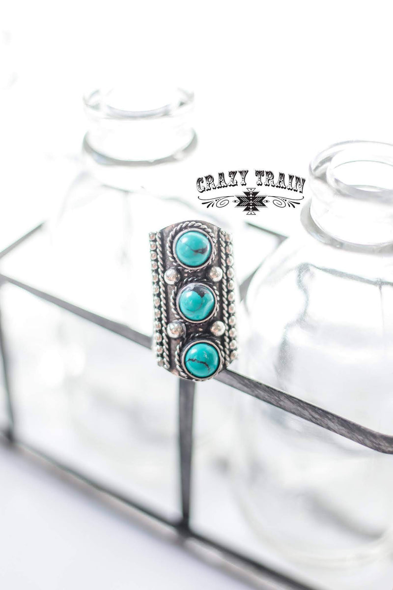 Penelope Turquoise Ring