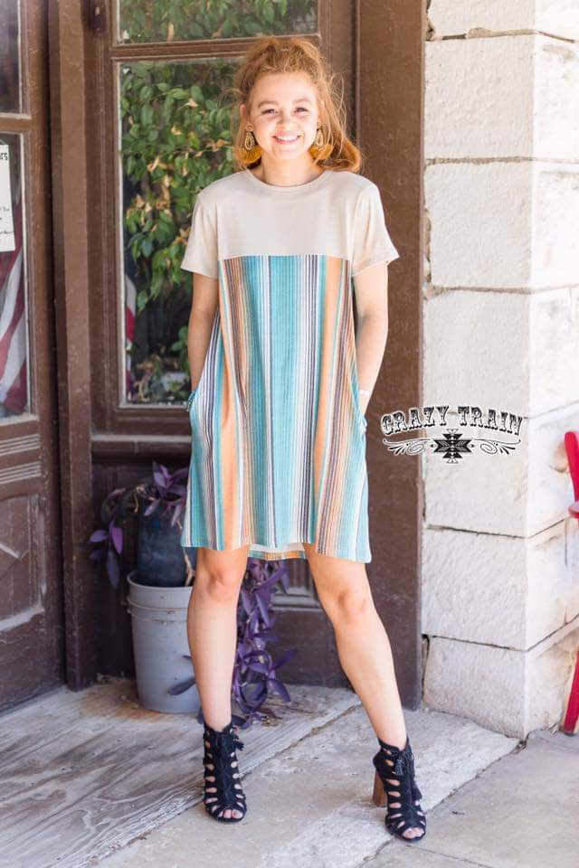 Classy Cantina Dress - Also in Plus Size