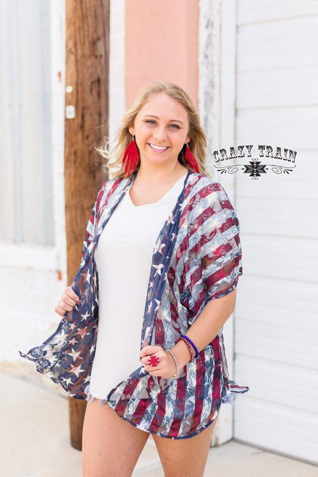 Liberty Reversible Kimono - Also in Plus Size