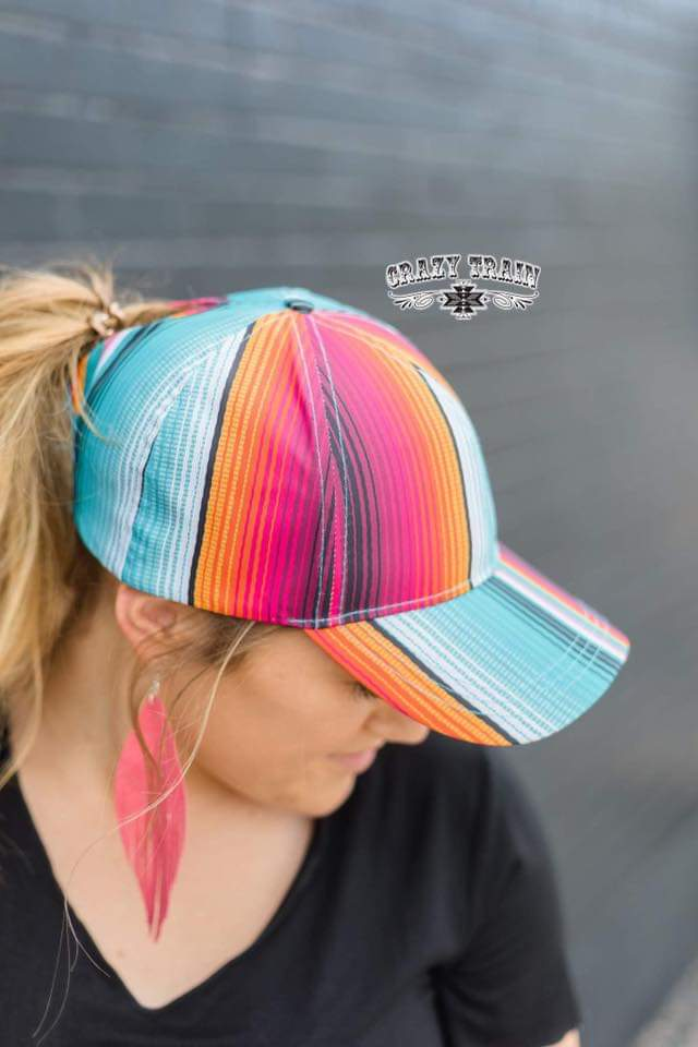 Pony Creek Serape Cap