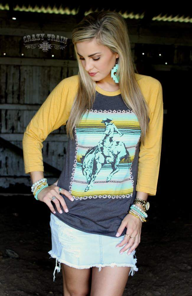 The Cowboy Way Top - Also in Plus Size