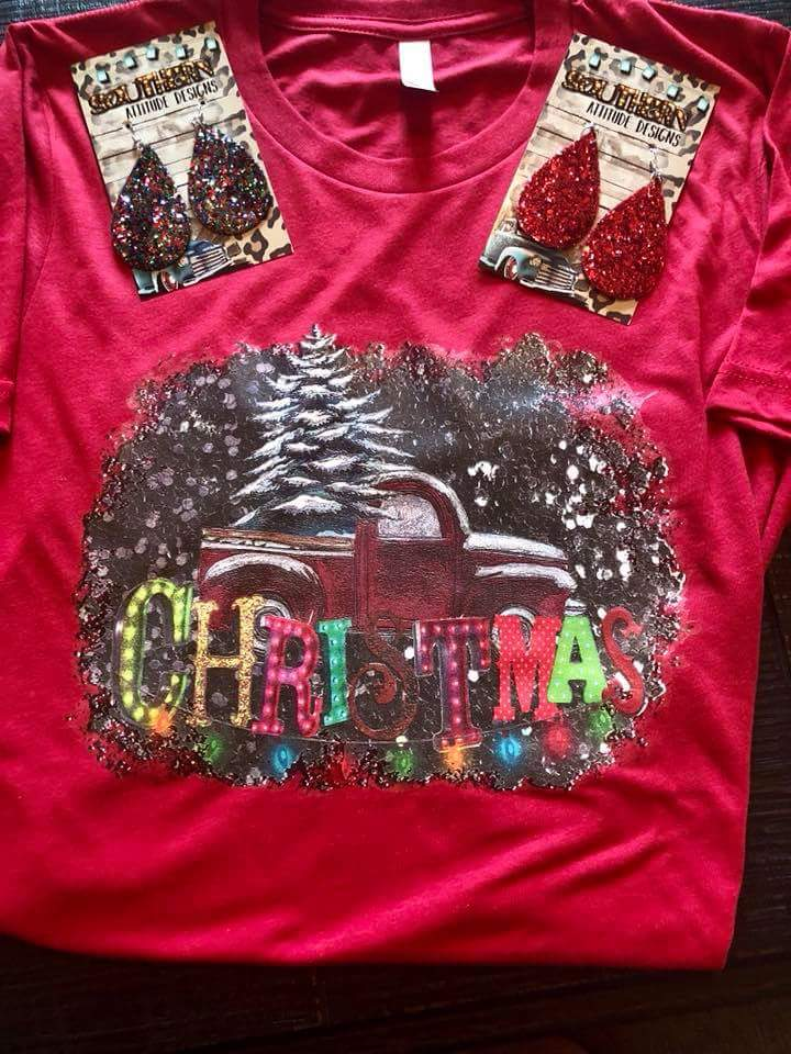 Vintage Christmas Top - Also in Plus Size