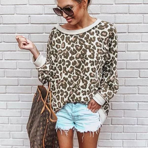 Crazy Over You Leopard Top - Also in Plus Size