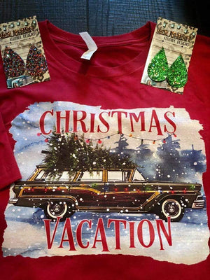 Christmas Vacation Top - Also in Plus Size