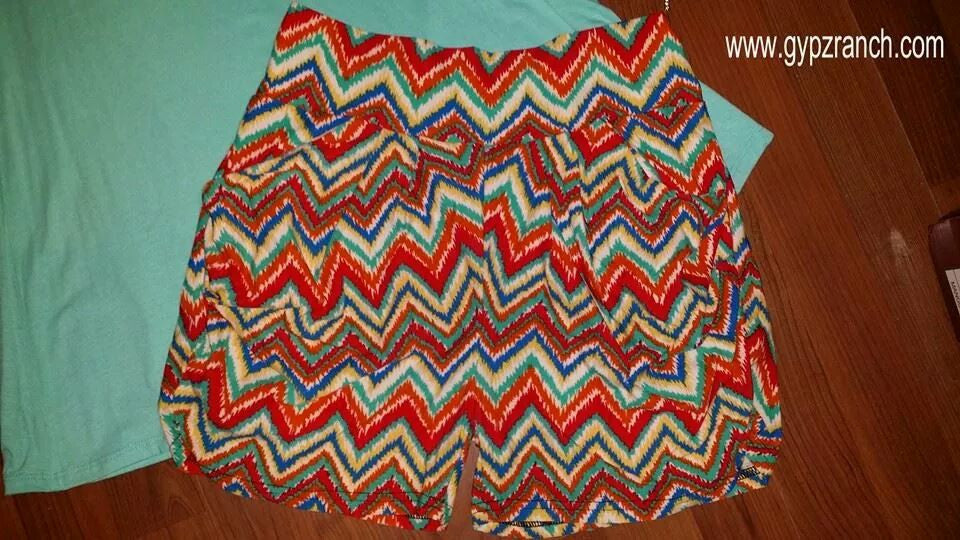 Fast Dynasty Chevron Shorts