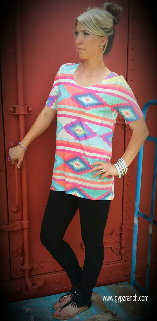 Roswell Tribal Top