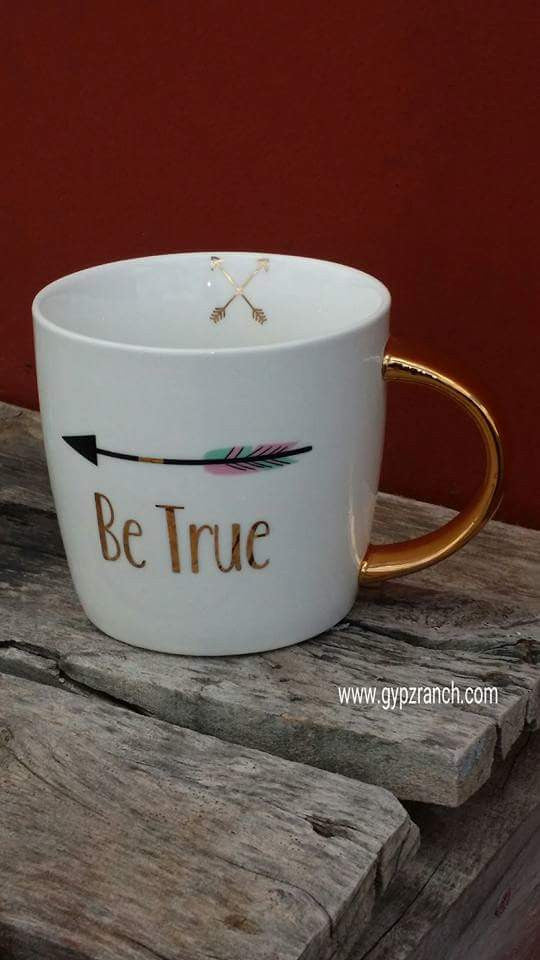 Be True Arrow Coffee Mug