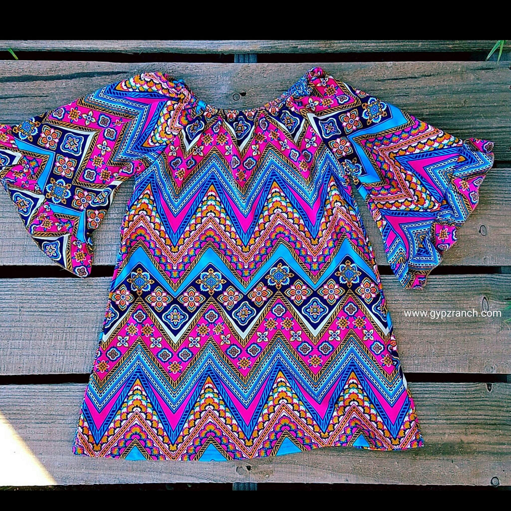 Kids - Prized Possession Chevron Tunic Dress
