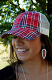 Pretty In Plaid Baseball Cap