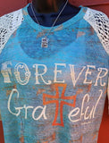 Forever Grateful Top- Also in Plus Size