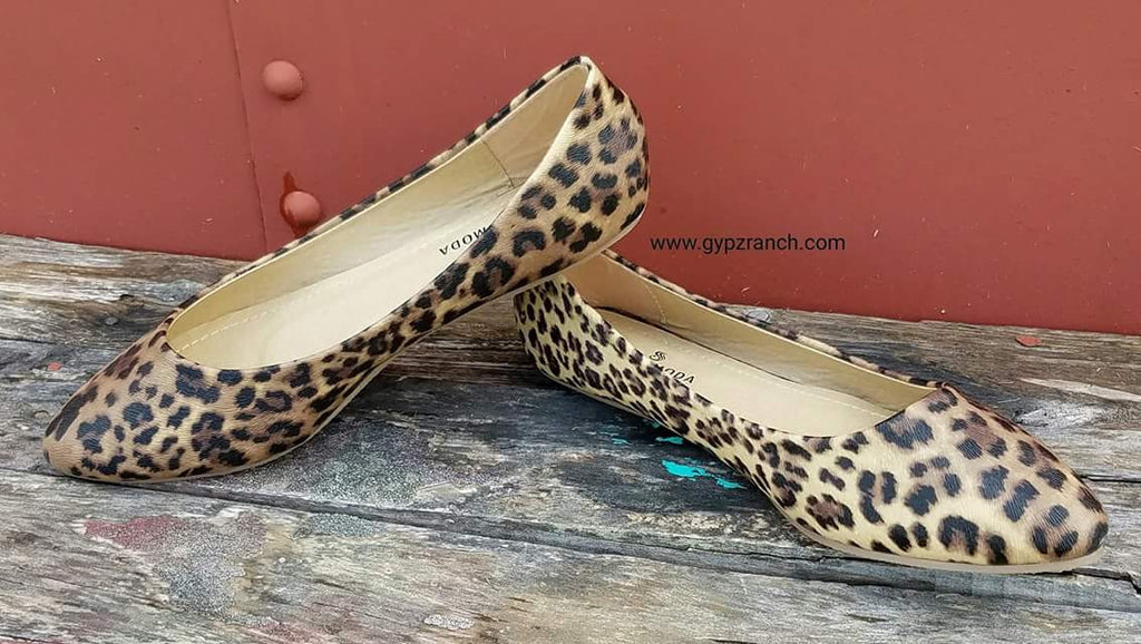 Gentry Leopard Flats