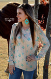 Southern Charm Hoodie Top - Also in Plus Size