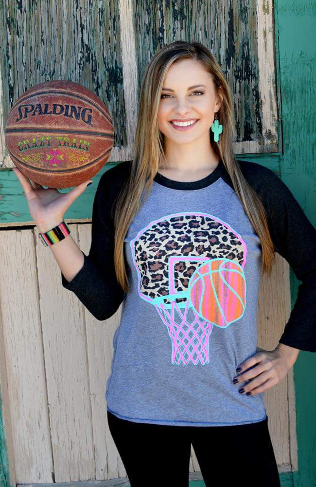 Best Shot Serape Basketball Top- Also in Plus Size