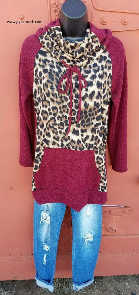 Star of the Show Leopard Top