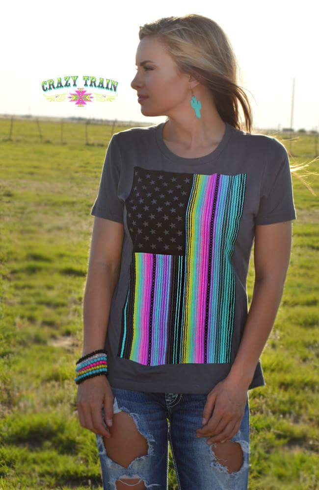 Neon Nation Tee - Also in Plus Size