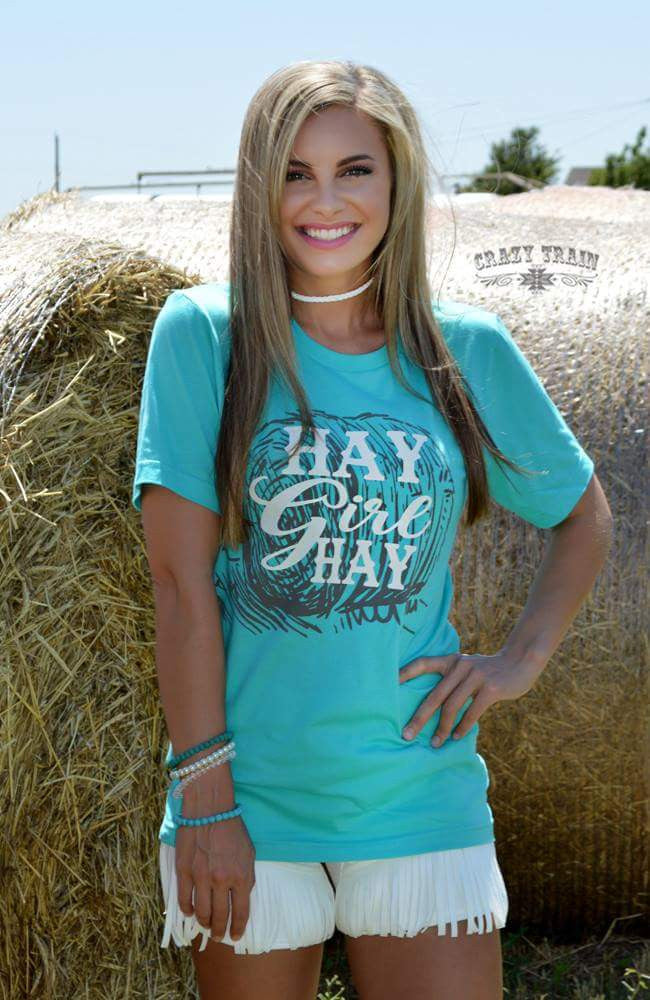 Hay Girl Hay Top - Also in Plus Size