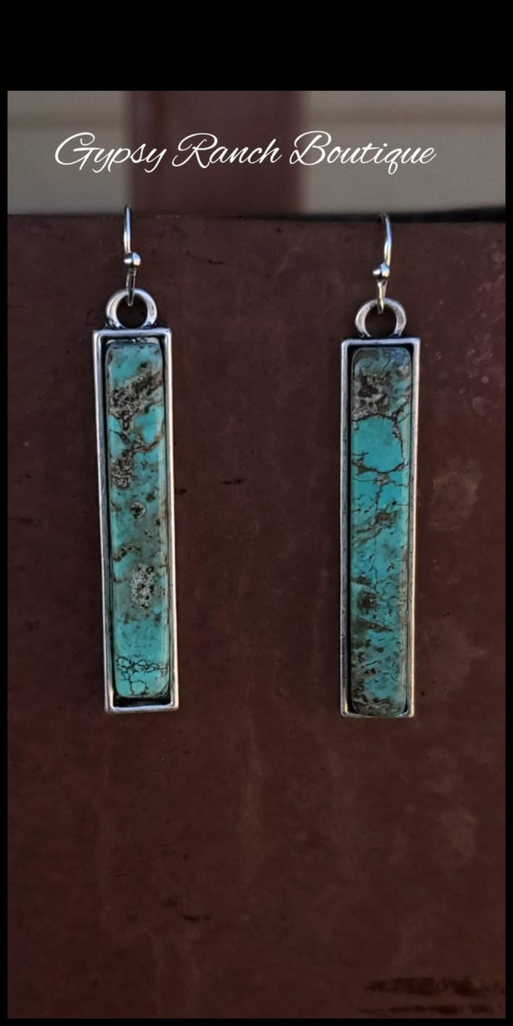 Bar Ranch Turquoise Earrings