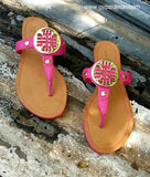 Legally Fabulous Medallion Sandals