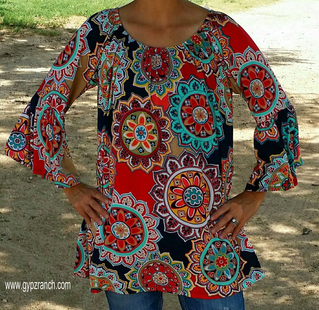 Scarlet 's Mountain Tunic Top - Also in Plus Size