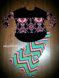 Kids - Stole My Heart Aztec Top