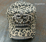 Kids - If The Crown Fits Wear It Leopard Cap