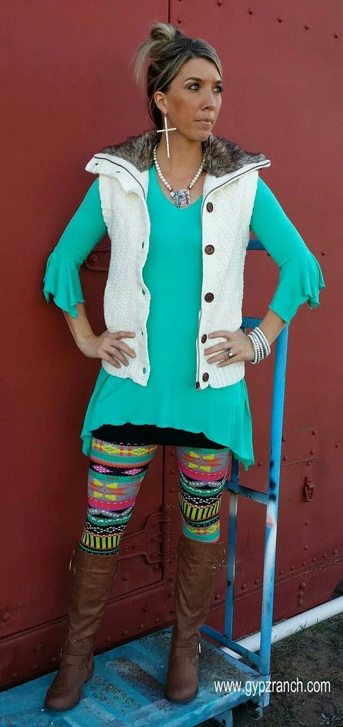 Twilight Harbor Tunic Top  Several Colors