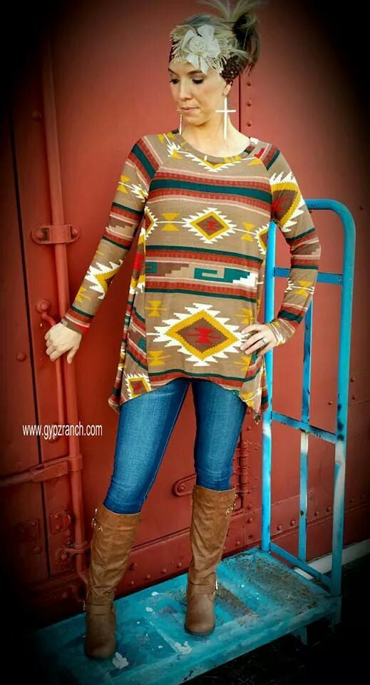 Gone Native Tribal Top