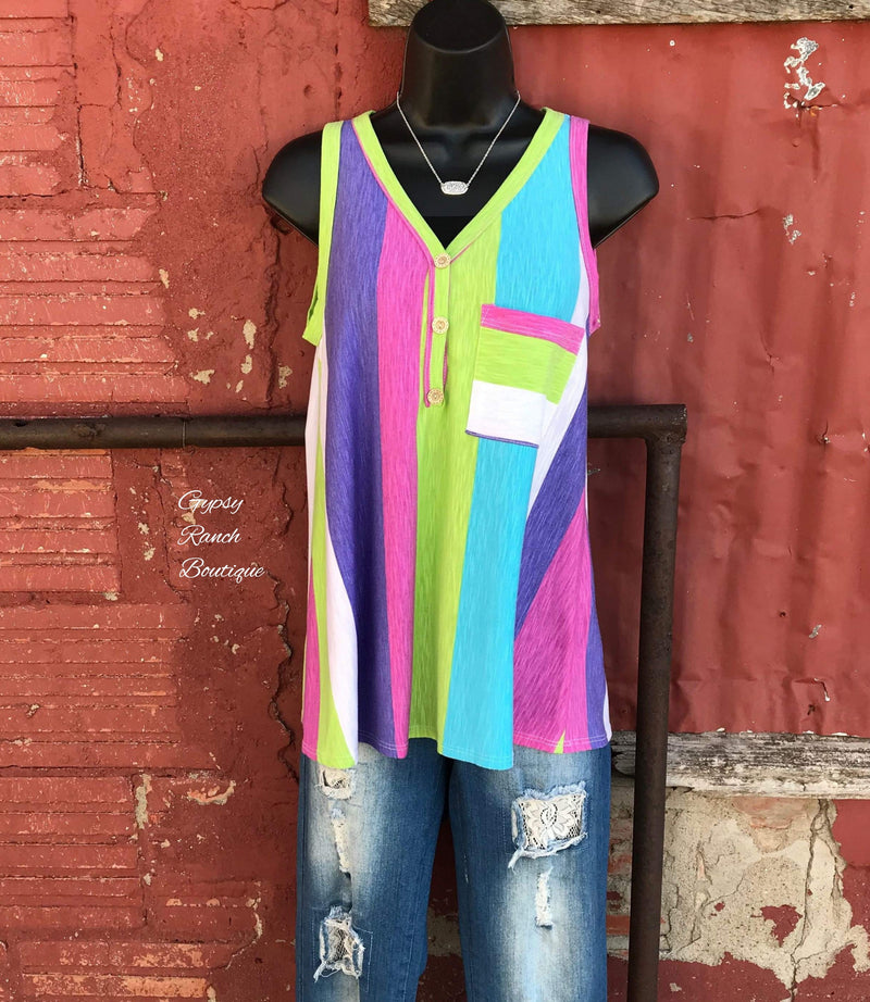 Fly Lexi Fly Stripe Tank Top