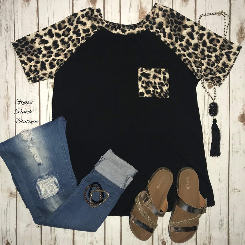 Valley Wild Leopard Top - Also in Plus Size