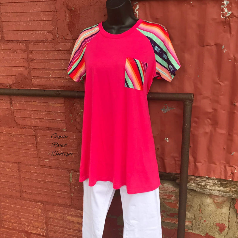 Ashton  Serape Top - Also in Plus Size