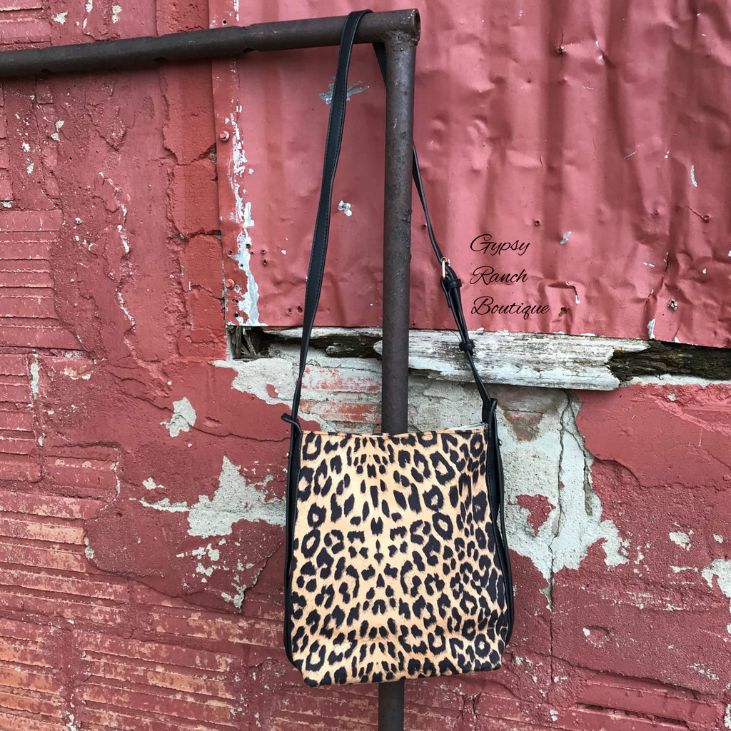 Chandler Leopard Crossbody Purse