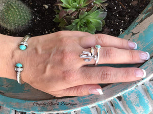 Creek Ridge Cactus Turquoise Ring