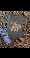 Western Barbie Bronc Top - Also in Plus Size