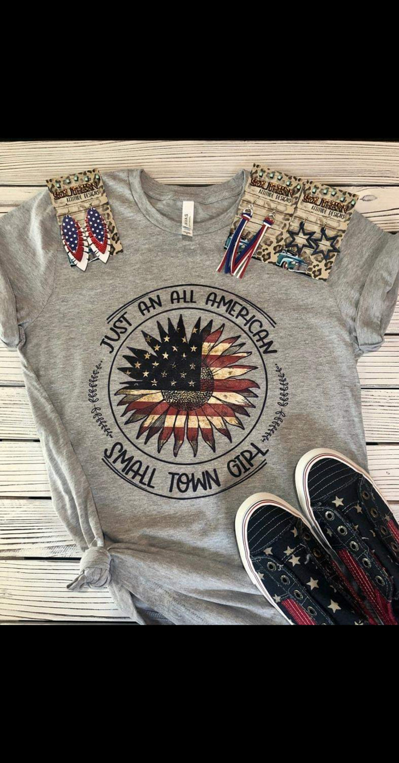 Just An All American Small Town Girl Top - Also in Plus Size