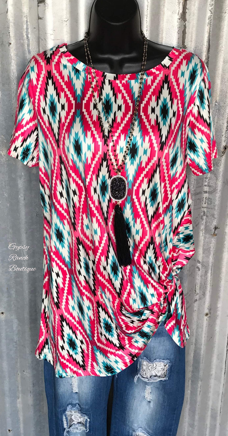 Epic Tribal Knot Top - Also in Plus Size